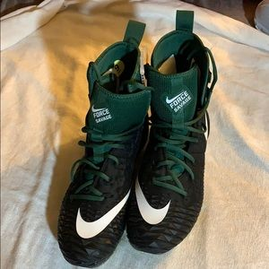 Men's Nike Force Savage Cleats! Size- 9